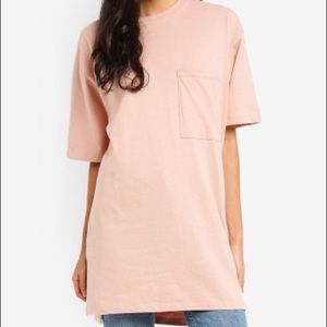 Topshop Boyfriend Pocket Tunic